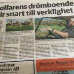 Norrtelje Tidning om Burviks planer på äldreboende
