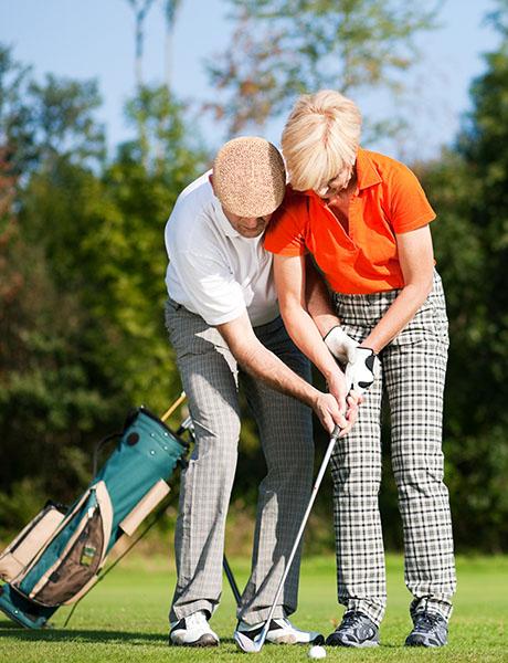 Golfshopen