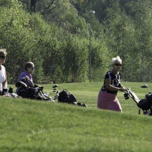 Golfande damer på Burvik gk